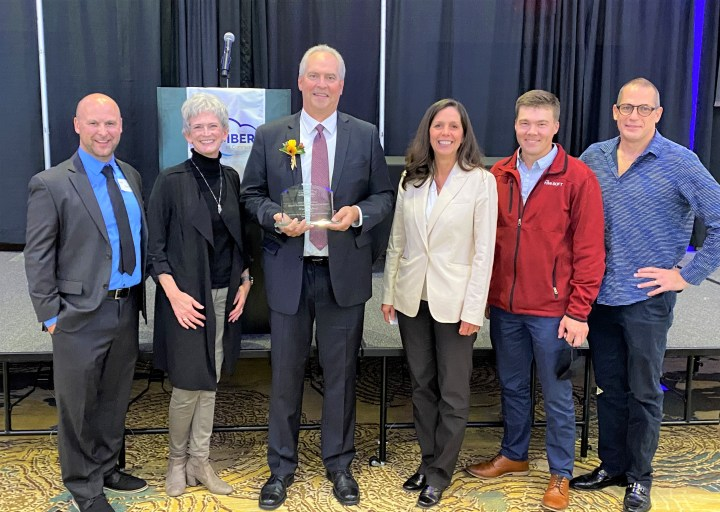 riteSOFT St. Cloud area chamber of commerce small business person of the year Bruce Hagberg