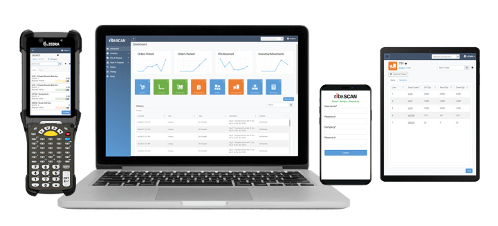 Get device flexibility with riteSCAN 8 Mobile Warehouse for SYSPRO