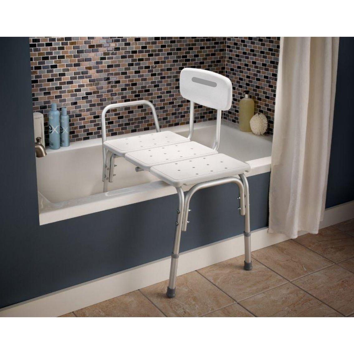 bathtub transfer bench by carex shower transfer benches