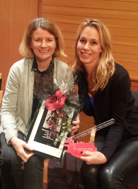 Ragna Sigurðardóttir og Marion Pauw