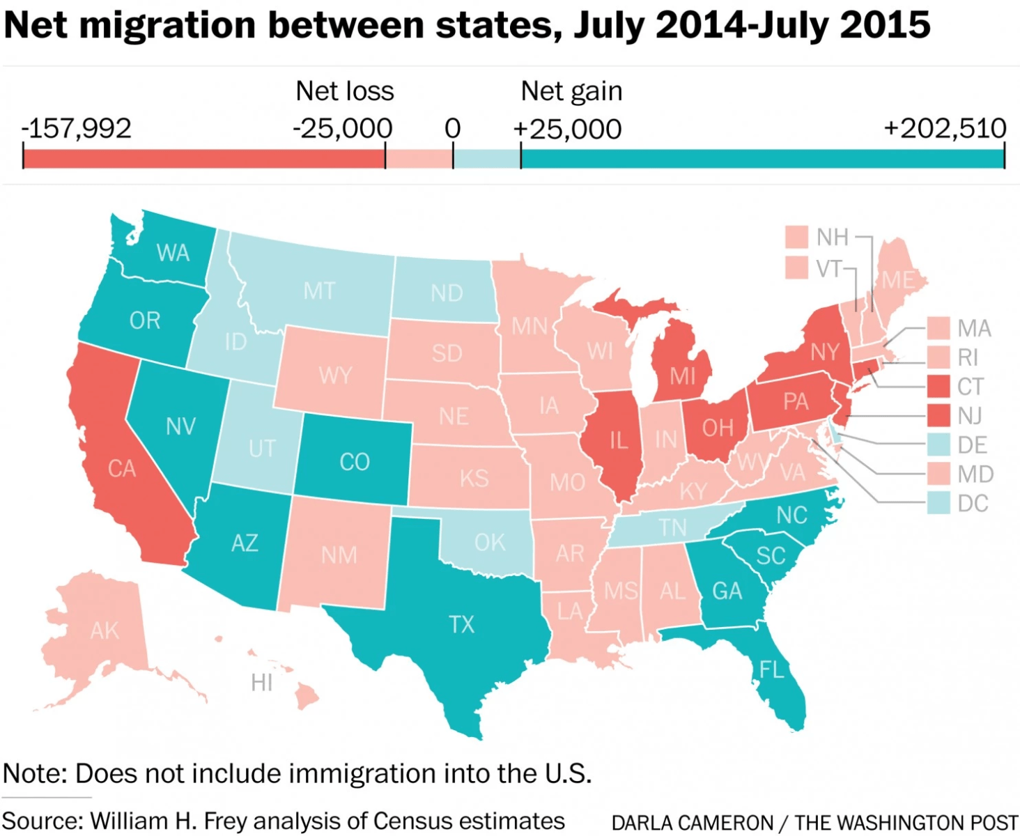The States People Really Want To Move To