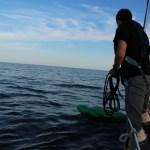 Vorbereitung zum Fang