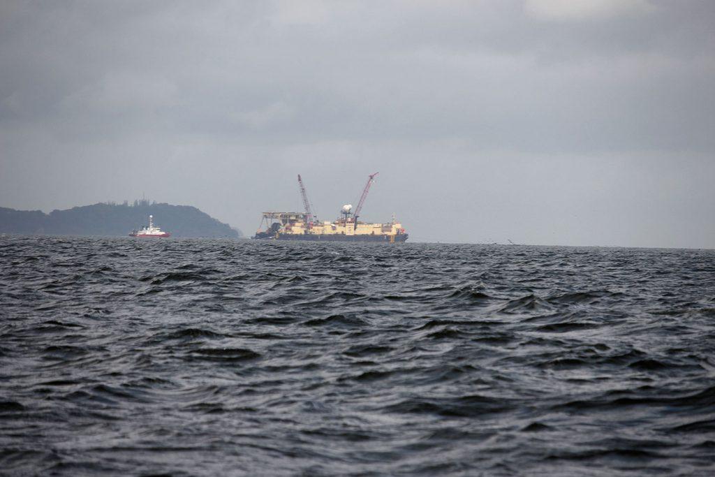 Arbeitsschiff der Northstream II