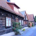 alte Holzhäuser
