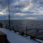 Boot und Wolken