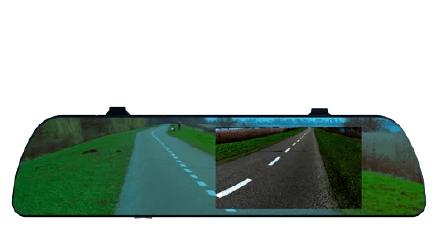 Видеорегистратор RITMIX AVR-550 Mirror