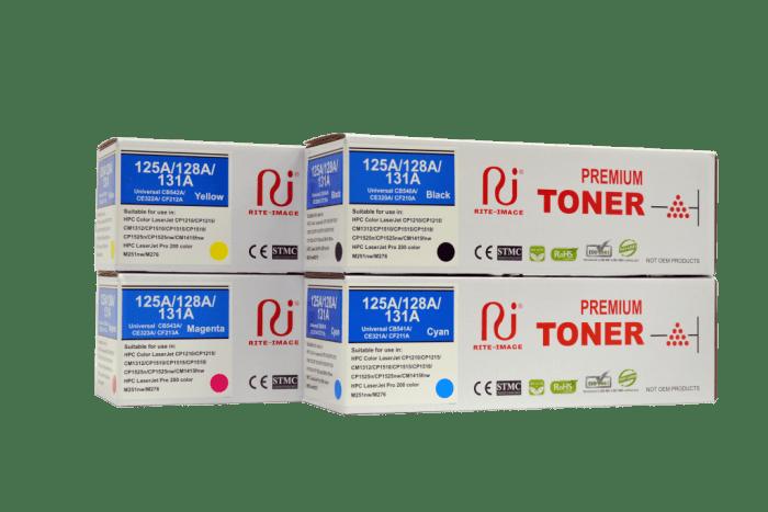 Rite Image Hp 131A/ Hp 128A/ Hp 125A/ Hp CF210A Compatible Toner Cartridge