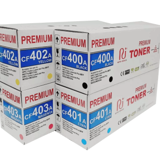 201A compatible toner cartridges
