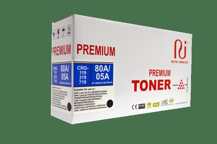 Rite Image CF280A/ CE505A Compatible Toner Cartridges