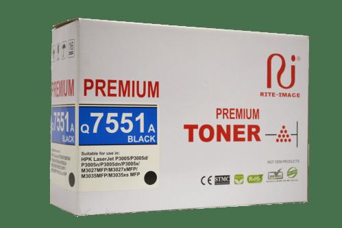 Rite Image 51A - Q7551A Hp Compatible Toner Cartridge
