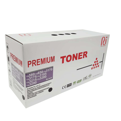 Brother premium TN580 compatible toner cartridge