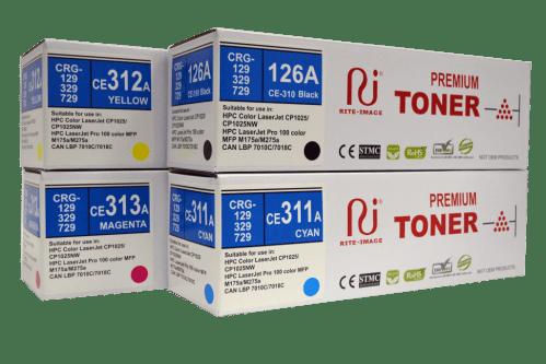 Rite Image Hp 126A, Hp 310A/ Hp 311A/ Hp 312A/ Hp CE313A Premium Compatible Toner Cartridge