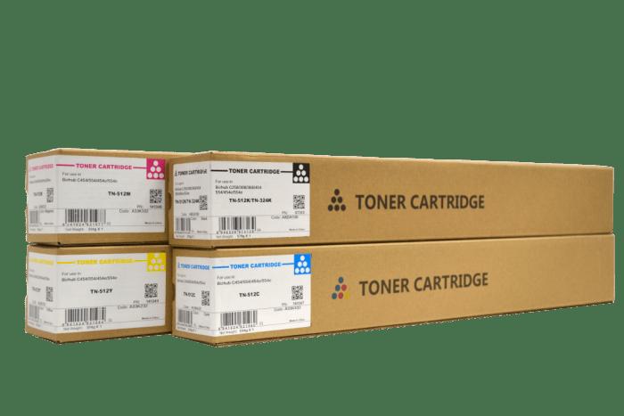 CET Konica Minolta TN512/ TN324 compatible toner cartridge