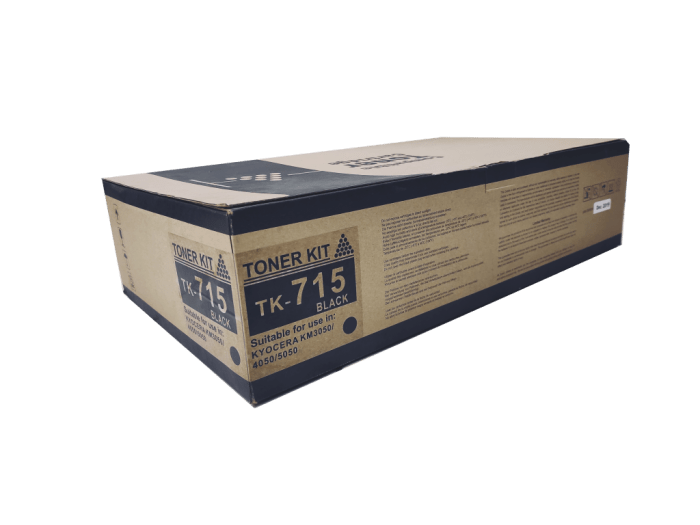 Kyocera mita TK715 compatible toner cartridge