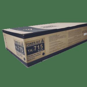 Kyocera mita TK 715 compatible toner cartridge