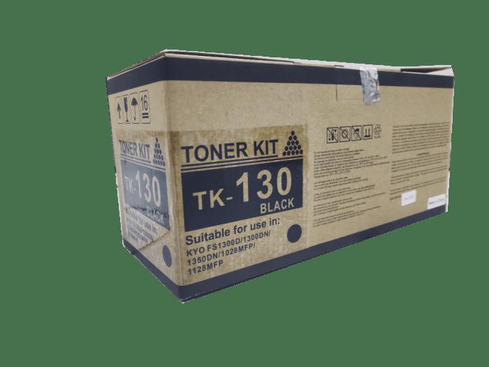 Kyocera Mita TK130 compatible toner cartridge