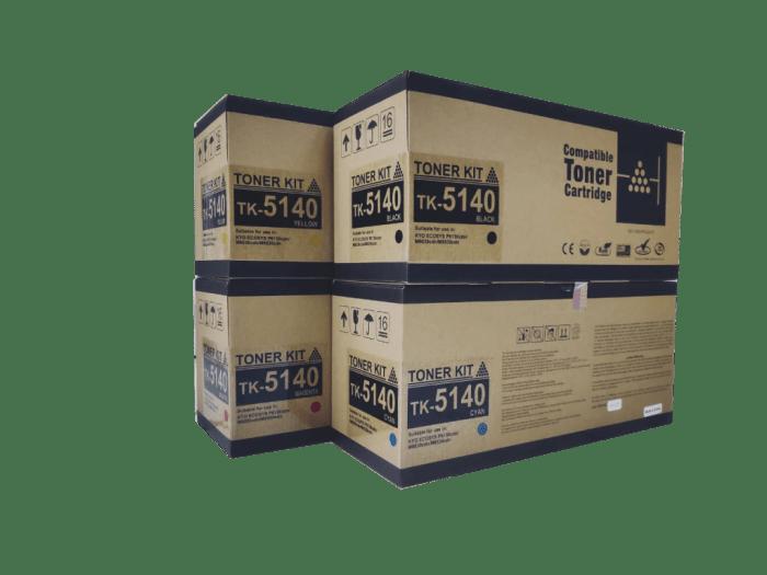 Kyocera Mita TK-5140 Compatible Toner Cartridge