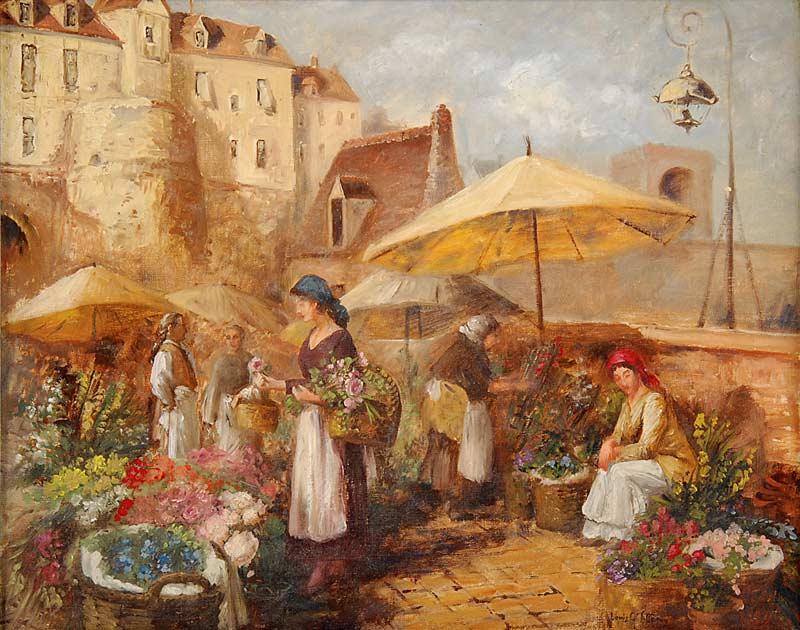 Risultati immagini per I fiori nei quadri