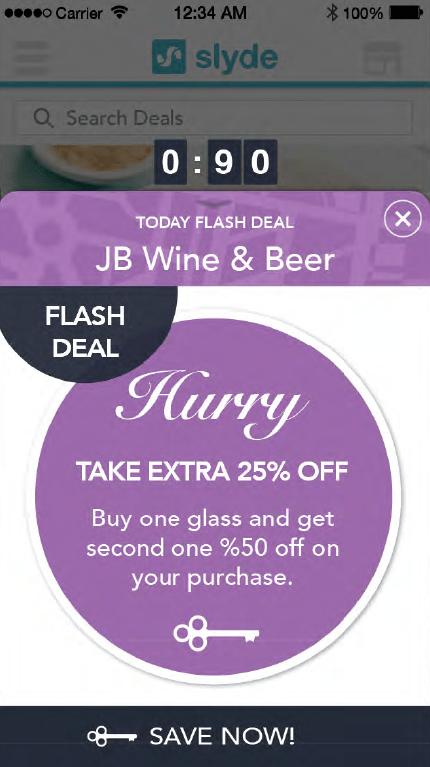 Slyde Flash Deals