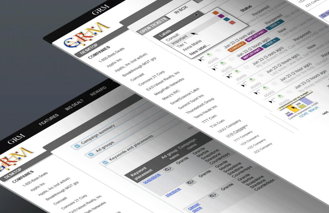 GRM-Google Dashboard