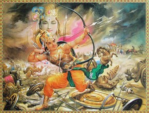 Abhimanyu in Mahabharata war, he was killed on thirteenth day