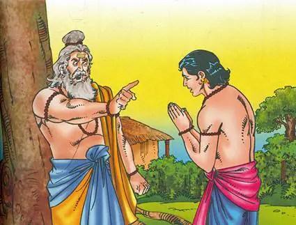 Parshurama's curse to Karna