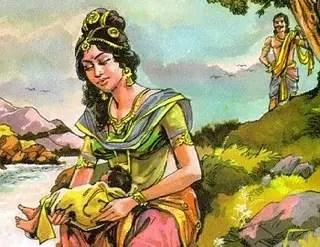 Love stories from Mahabharat - Indian mythology