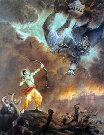 Rama and Ravana - The Ramayana