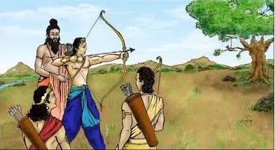 Drona - teacher of Arjuna