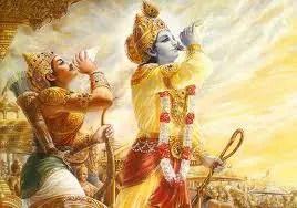 Krishna and Arjuna - Nar and Narayan