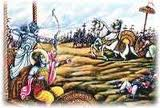 Karna killed by Arjuna with weapon anjalika