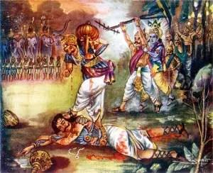 Image result for duryodhana death