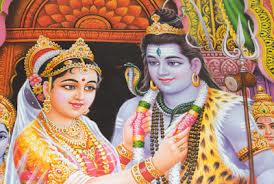 Lord Shiva and Parvati marriage
