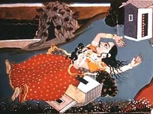 Krishna and Putna