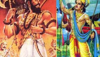 Bhishma and Parshurama