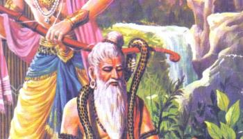 Raja Parikshit , Sage and snake