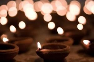 Earthen pots or Deepak on Diwali