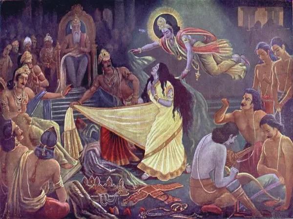 Draupadi's saviour - Shri Krishna