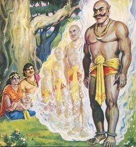 bhima hidimba and ghatotkacha