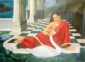 Damyanti - A beautiful maiden