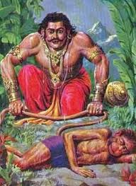 Bhima and Hanumana