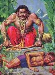 Bhima and Hanumana