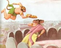 Sugriva and Ravana
