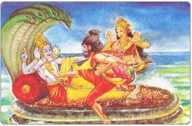 When Lord Vishnu borrowed from Lord Kubera   Indian Mythology