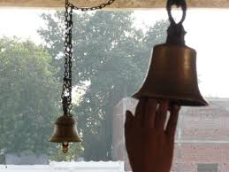 bells in mandir