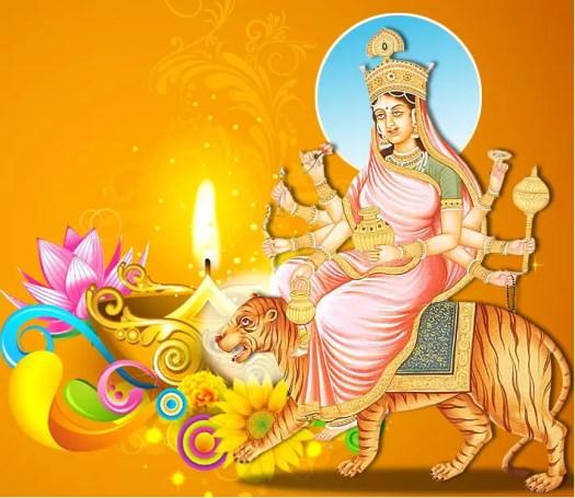 Maa Kushmanda Image