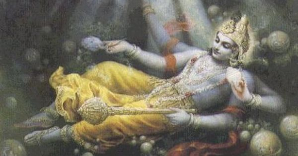 Lord Vishnu and Ksheersagar
