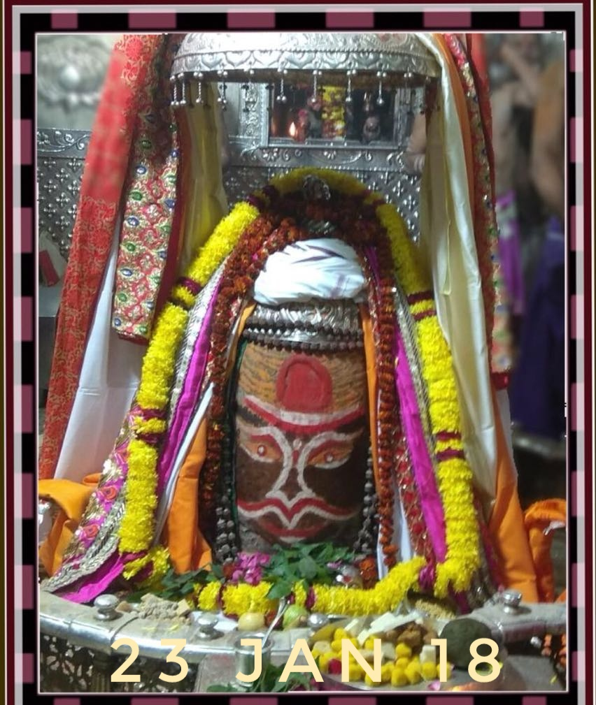 Mahakal Shringar on 23 Jan 2018