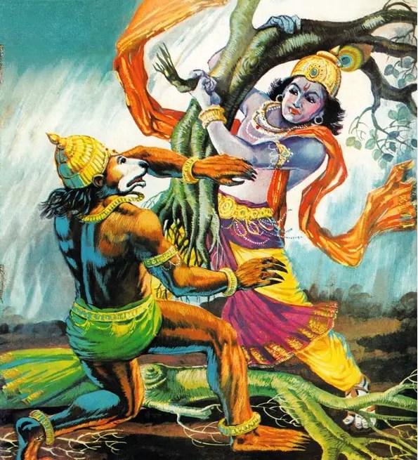 The_Syamantaka_Gem_Krishna_Jambavanta