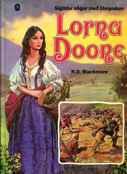 Lorna Doone sígildar sögur með litmyndum
